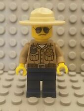 LEGO City Forest Police Officer Minifigure with Campaign Hat and Sunglasses