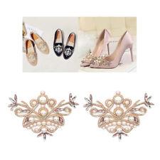 2er-pack cristal zapato remolque pedrería flores zapato clips zapato joyas