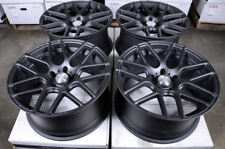 19x9.5 5x120 Black Wheels Fits Bmw X5 X6 Honda Pilot Ridgeline Land Rover Rims