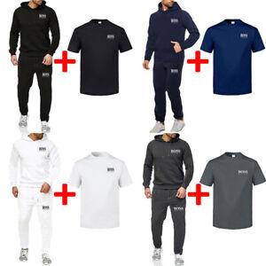 Hugo Boss1 Herren Trainingsanzug Sportanzug Jogging Anzug Hoodies Sweatshirt DE