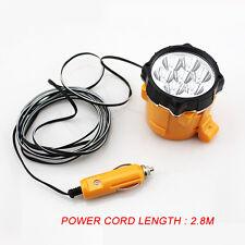 7 LED Flashlight Auto Car Cigarette Lighter Magnetic Emergency Work Light 12V