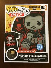 Funko Pop Tees Pop & Pint Pack Walking Dead NEGAN With Pint Size Hero Size SMALL