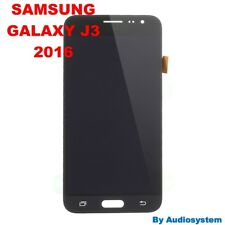 P1 DISPLAY LCD+TOUCH SCREEN per SAMSUNG GALAXY J3 2016 SM-J320FN NERO RICAMBIO