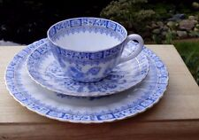 Kaffeegedeck, alt, China Blau, vielleicht Tillowitz Silesia