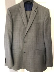 mens prince of wales check suit