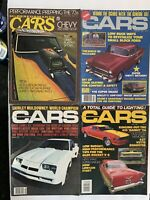 High Performance Cars (4) Magazines Dec 1972, April 1982, August 1978, Feb 1982