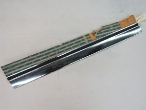 NOS 1971 Chevy Impala Caprice 454 2Dr LH Front Door Lower Molding GM 8704103