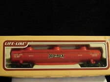 DEEP ROCK ** TRIPLE DOME TANK CAR ** OOP ** FREE SHIPPING ** HO Scale Train *NOS