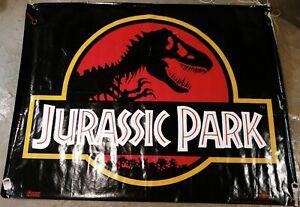 """Jurassic Park 47"""" x 61"""" (62""""?) Vinyl Banner"""