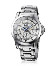Seiko SNP091 Premier Kinetic Perpetual Analog Mens Watch Stainless Steel New
