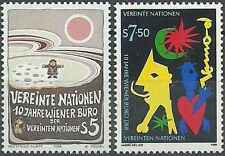 Timbres Nations Unies Vienne 94/5 ** lot 6620