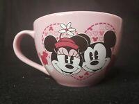 Original Disney Store Minnie Mouse 14-16 oz Pink Coffee Cup Mug, Soup Bowl, Tea