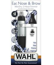 Wahl 5560210 Nose Ear Trimmer Eyebrow Neck Hair Groomer Micro Personal Shaver