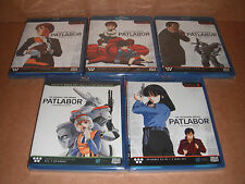 Patlabor The Mobile Police Collection Complete TV Series & OVA Blu-rayNEW