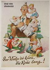 Kolorierte Sammler Motiv Künstler Ansichtskarten ab 1945