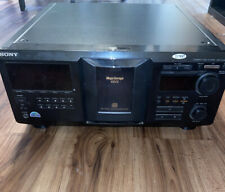 New listing Sony Cdp-Cx455 Mega 400 Cd Compact Disc Player Parts Or Repair Not Working