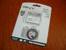 PNY 32GB CF Compact Flash Memory Card for Canon EOS 40D 50D 5D MARK II 7D