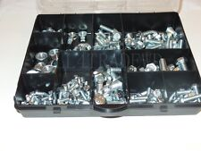 250 Pieces of Metric Nut & Bolt Fastener Assortment Box  6MM . 8MM , 10MM