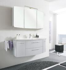 Pelipal > Badmöbel CASSCA 24 > weiß Hochglanz 120 cm Mineralmarmor-Waschtisch