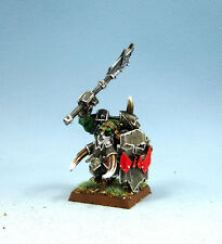 25mm Warhammer Fantasy WGS painted Orcs & Goblins Biack Orc Big Boss OR027