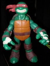 "Teenage Mutant Ninja Turtles Raphael  11"" Action Figure 2012 Playmates  red mask"