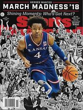 KANSAS JAYHAWKS DEVONTE GRAHAM SIGNED SPORTS ILLUSTRATED AUTHENTIC COA KU