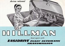 HILLMAN EASIDRIVER Cabrio Station Sedan Automatik British Car Prospekt Brochure