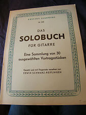 Partition Guitare Das Solobuch Livre de solo Sikorski N°268 Music Sheet