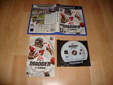 MADDEN NFL 2004 FUTBOL AMERICANO DE EA SPORTS PARA LA SONY PS2 USADO COMPLETO