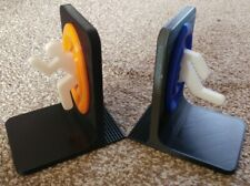 Portal Bookends Xbox PS4 Video Games Rack Movies Stand - Pick Your Colour