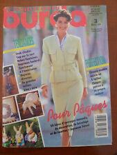 MAGAZINE BURDA MARS 1993  Neuf