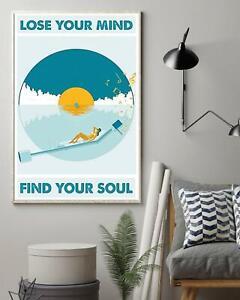 Love Beach Poster, Love Music Poster, Girl Listening Music Poster