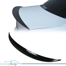 STOCK IN USA ▶ Painted BMW E82 P Performance Type Trunk Spoiler Color #668 BLACK