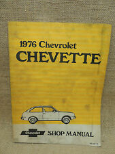 1976  Chevrolet Chevette Service Repair Manual  ST-357-76