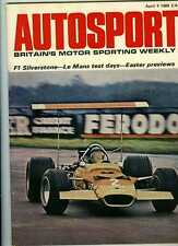 Autosport April 4th 1969 *Daily Express International Trophy Silverstone*