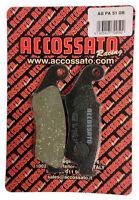 Pastiglie Accossato Organica Anteriori AGPA51OR per moto e scooter
