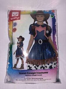 Kids Girls Wild West Texan Rodeo Cowgirl Jessie Fancy Dress Book Week Costume