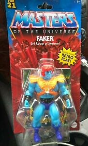 MOTU MASTERS OF THE UNIVERSE RETRO PLAY:: FAKER***NEW FOR 21