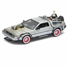 Ritorno al futuro 3 Delorean Modellino Welly 1/24 1981