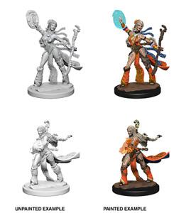 RPG - Pathfinder Deep Cuts: Unpainted Miniatures - Human Female Sorcerer NEW!