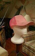 Pink Baseball Caps Breast Cancer Awareness One Size Hat Unisex New Box of 1dozen
