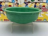 """Vintage Fiesta Serving Nappy Bowl 9 1/2"""" Larger Size Original Color Green"""