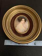 Vintage CAMEO CREATIONS Framed Cameo Pictures Victorian Grafin Szchenyi-Seilern