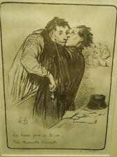 Daumier, Honore Lithograph un triomphe d'avocat, 132 / 500
