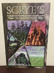 Magic The Gathering Scrye's Unofficial Player's Guide great condition!! MTG