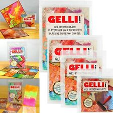 Gelli Arts Reusable Gel Printing Plate 7 Sizes GELLIART PLATES for Paper Cards