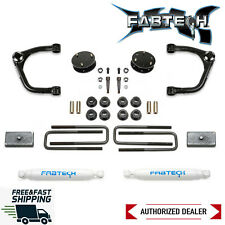 "Fabtech 3"" UniBall UCA Lift W/ Rear Performance Shocks 2019-2020 Silverado 1500"