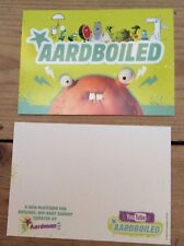 Aardman Animation Wallace & Gromit Aardboiled promotional postcard new