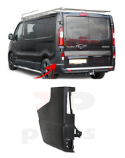 FOR RENAULT TRAFIC 2014 - 2020 NEW REAR BUMPER SIDE BLACK CORNER LEFT N/S