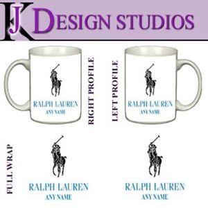 Ralph Lauren (A) Personalised Fan Mug